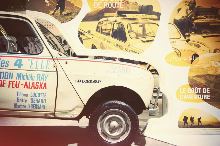 Expo renault 50 ans 4L