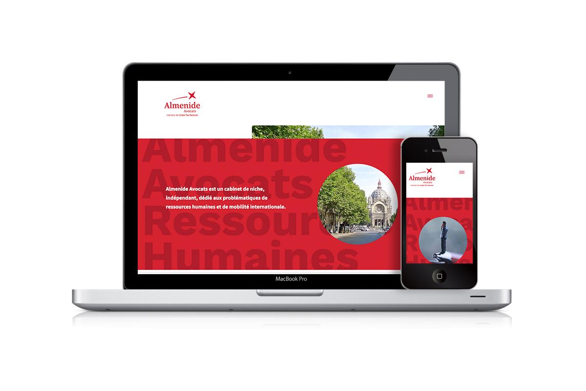 ALMENIDE.COM site réalisé avec codsense